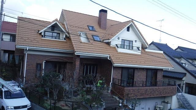 S様邸外壁・屋根塗装