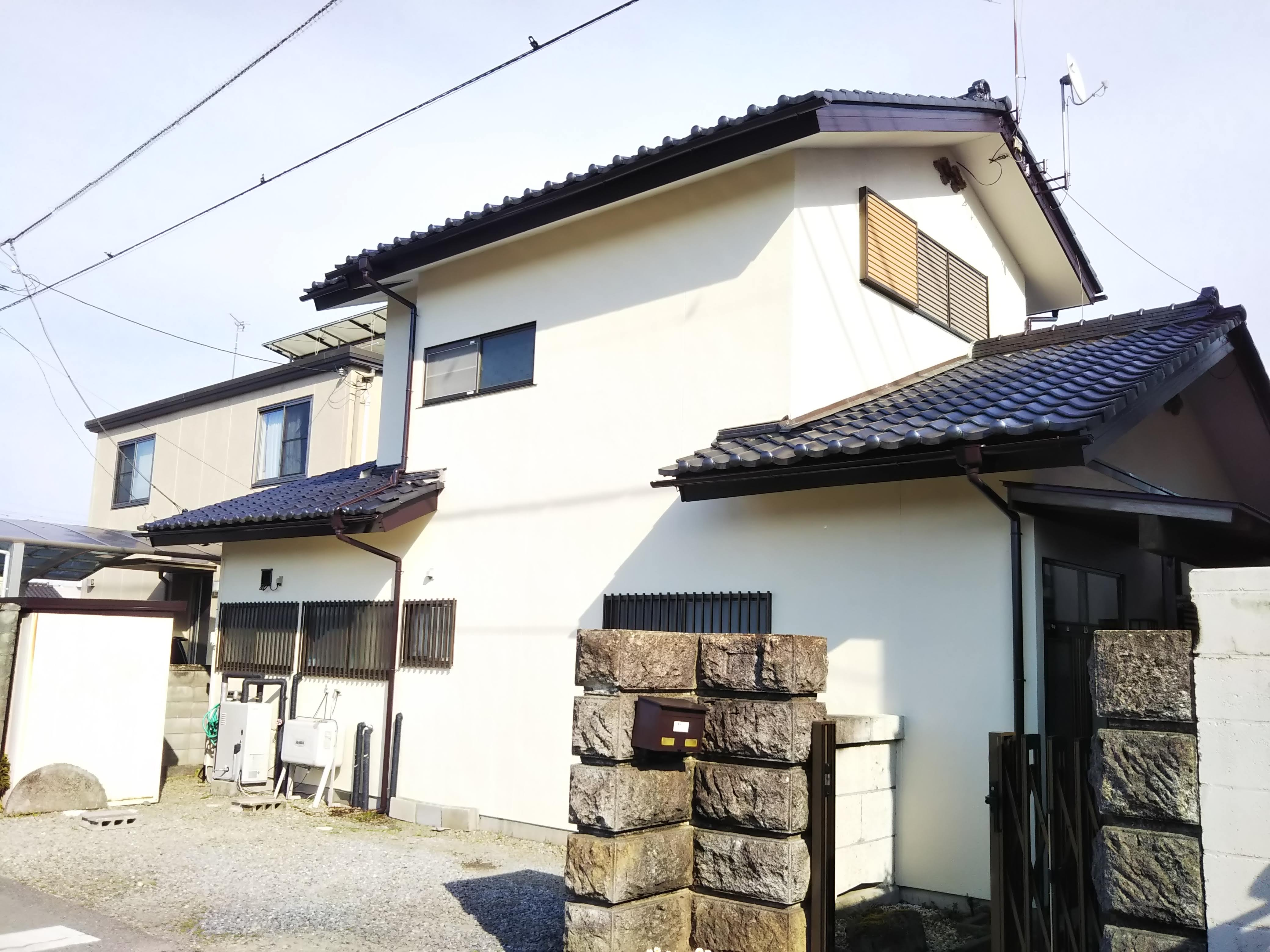 【那須塩原市】屋根外壁塗装