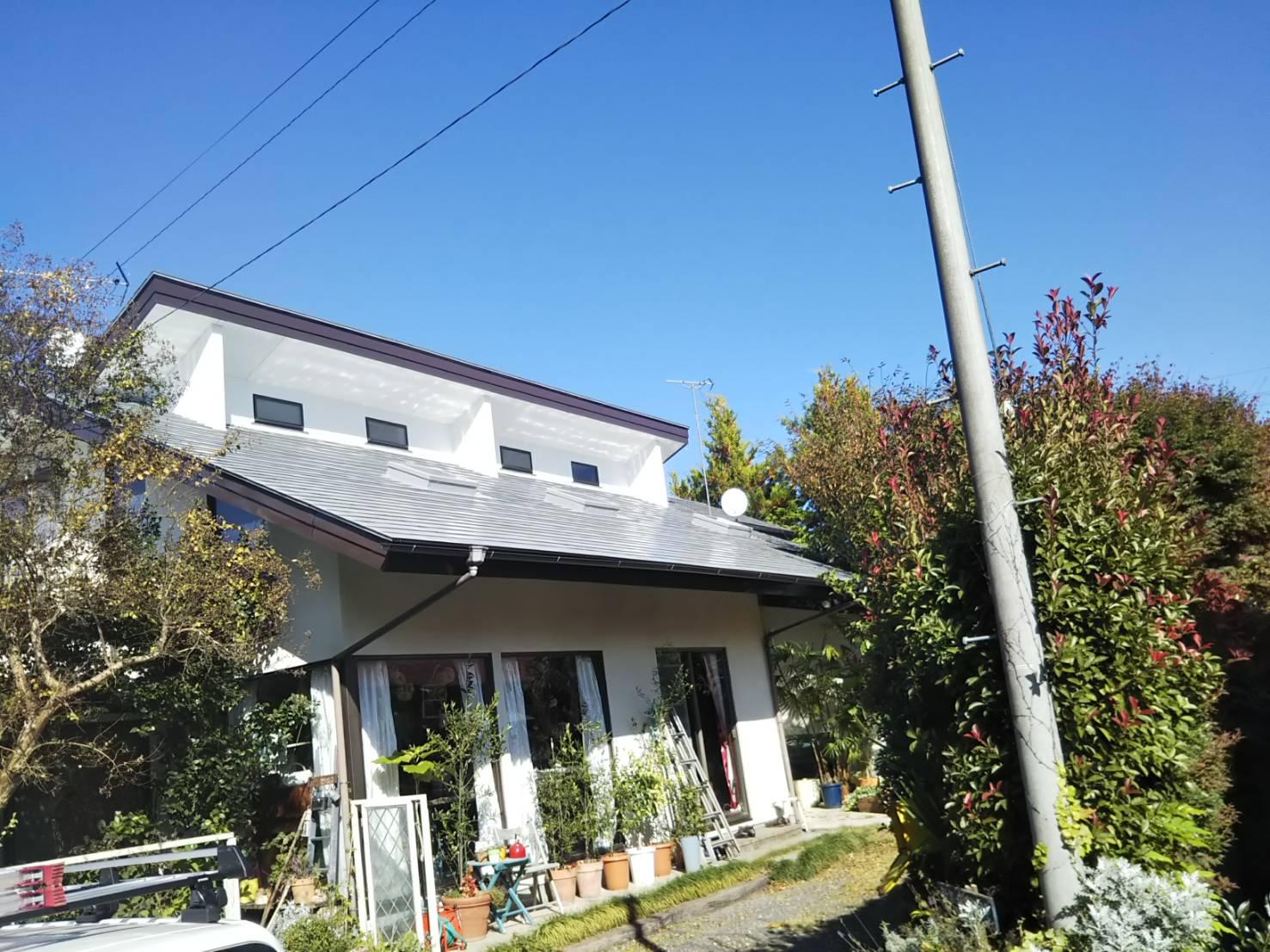 T様邸 屋根塗装工事